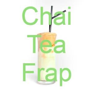 low carb chai tea frap