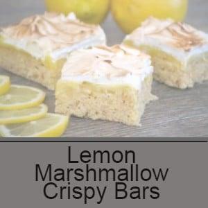 high protein lemon rice krispie treats low carb