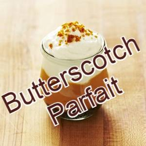 low carb parfait butterscotch