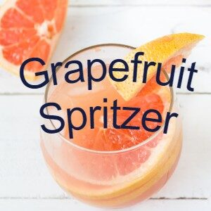 grapefruit sprizer