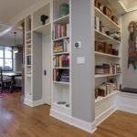 bookcase, built ins