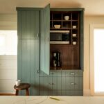 Tall, Pantry, Painted, Green, Maple, Amish