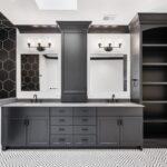 Vanity, Bathroom, Painted, Gray