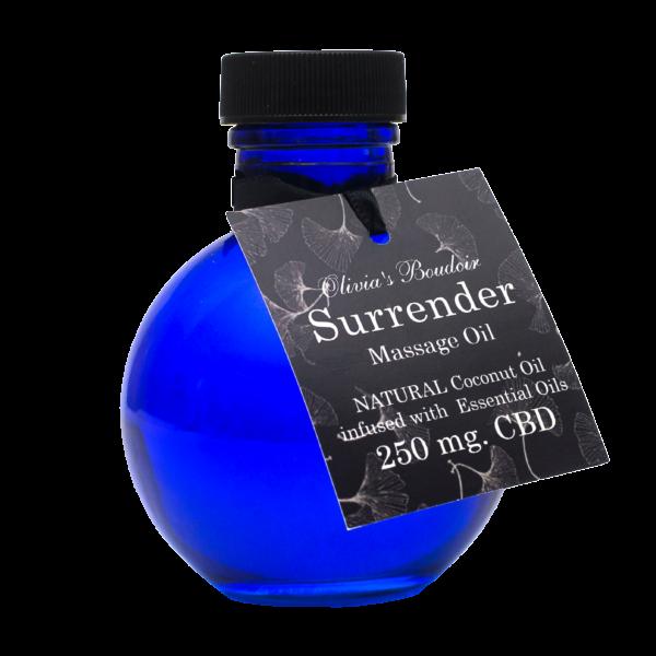 CBD Massage Oil-Surrender