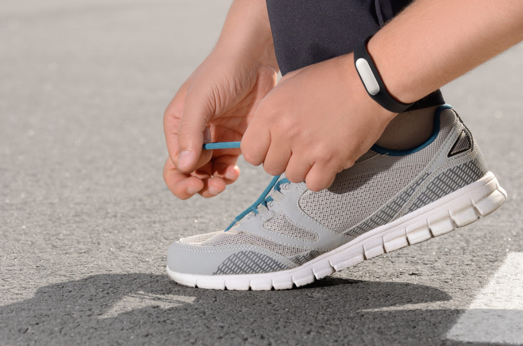 A fitness tracker will help you realize your exercise goals.