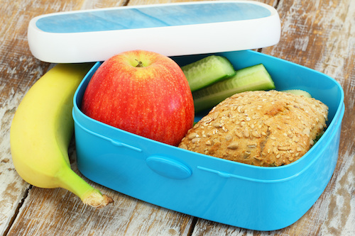 A diet that includes plenty of fruits, vegetables, whole grains, lean meats and healthy fats will help obesity prevention in children.
