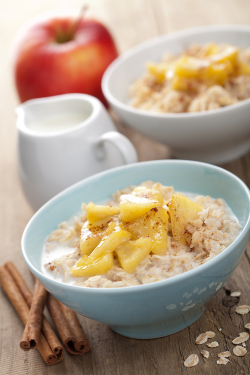 Baked Apple And Nut Oatmeal