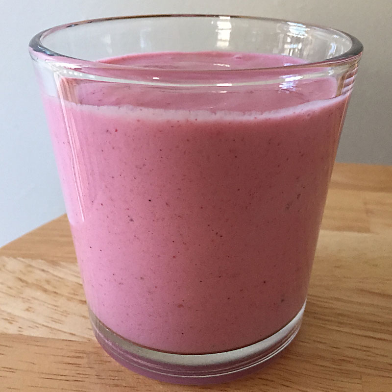 Lifestyle Medical—apple Berry Smoothie