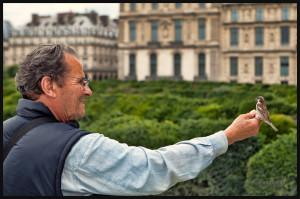 Heure du repas au Jardin des Tuileries
