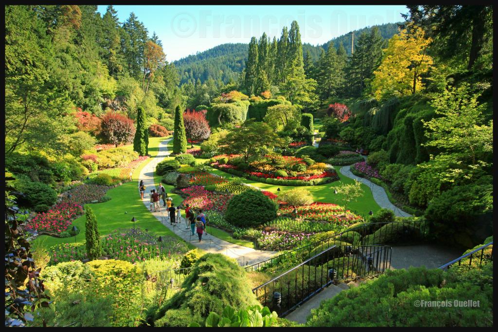 Butchart Gardens, Colombie-Britannique, 2012.