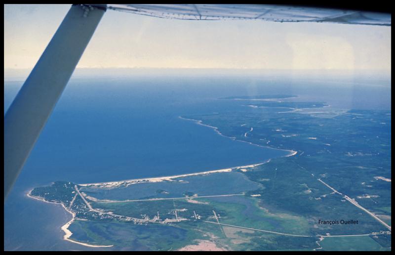 Traversée du lac Winnipeg avec un Cessna C170B en 1981