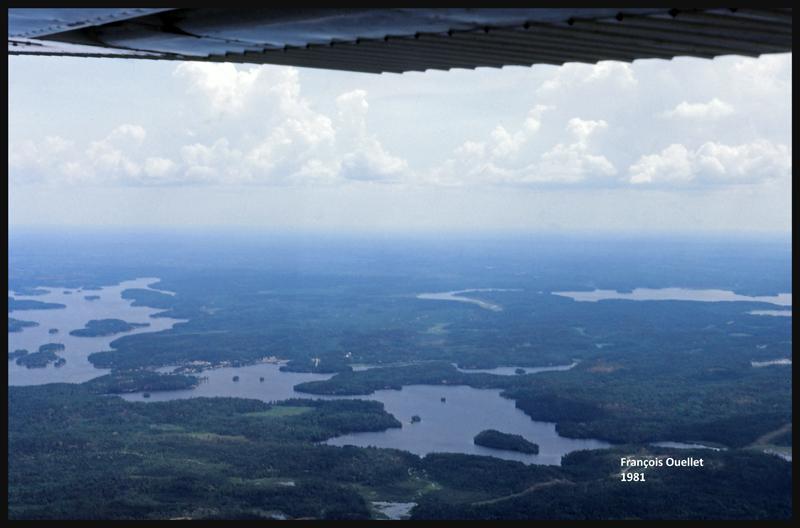 De Fort Frances vers Kenora en 1981, en Cessna C170B
