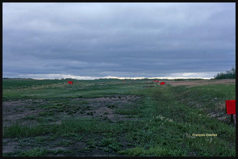 La piste de Watson, Saskatchewan, en 1981