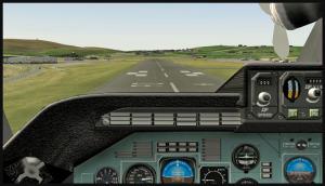 Vitesse 126 kts sur la piste de Sumburgh, Écosse, avec l'Antonov 225 et la navette russe Bourane (FSX)