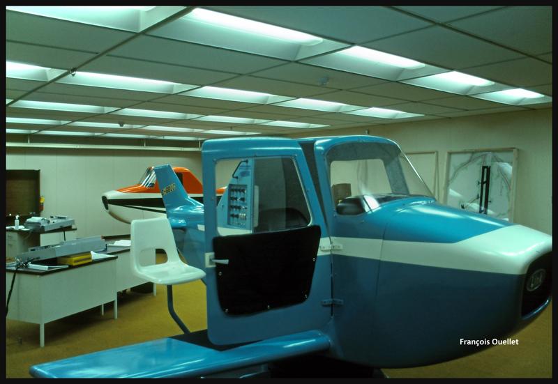1982 IFTC Cornwall Salle de simulation de vol
