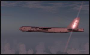 B-52 en vol de croisière (FSX)