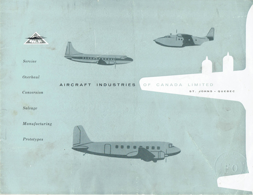 Aircraft Industries of Canada Limited cover