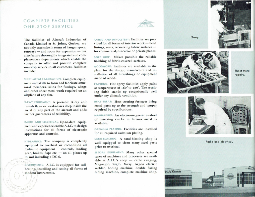 Aircraft Industries of Canada Limited page 3