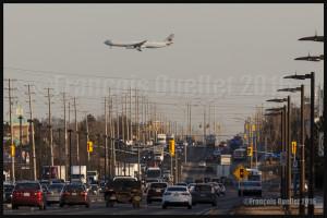 Air Canada Airbus A-330 en finale 06L Toronto 2016