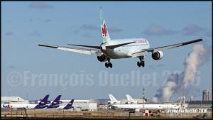 Air Canada Boeing 767-375 (ER) C-FCAB à Toronto 2016
