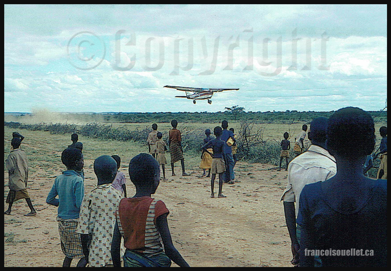 Aviation sans frontières (ASF) Mission Tchad 1984