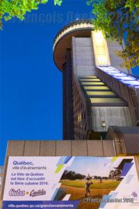 Hôtel Le Concorde Québec et la Série Cubaine 2016