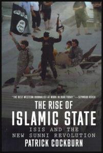 """Première de couverture du livre """"The Rise of Islamic State"""" de Patrick Cockburn"""