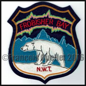 Écusson de Frobisher Bay, N.W.T., Canada