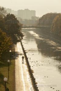 Séance de jogging en matinée à Ottawa