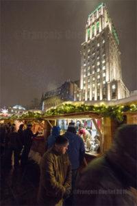 Kiosques du marché allemand de Noël dans la Ville de Québec (2016)