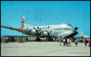 C-124 Globemaster du Military Air Transport Service aux États-Unis (autour de 1957)