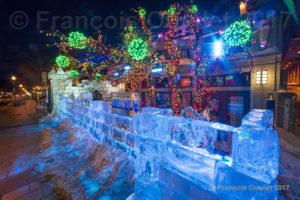 Sculpture sur glace du Carnaval de Québec 2017