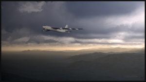 B-52 virtuel de la compagnie Captain Sim dans le sud de la Californie
