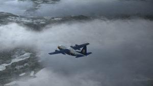 Double panne de moteurs sur le C-130 Hercules virtuel des Blue Angels.