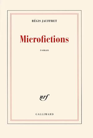 Page couverture du roman Microfictions 2018 de Régis Jauffret.