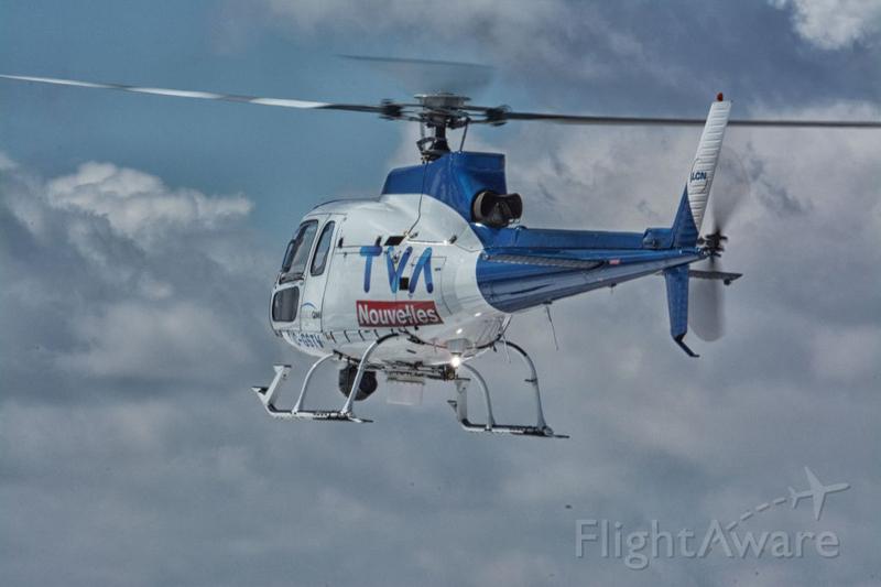 Hélicoptère C-GSTV de TVA Nouvelles au Québec