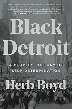 Cover page of the book Black Detroit by Herb Boyd.