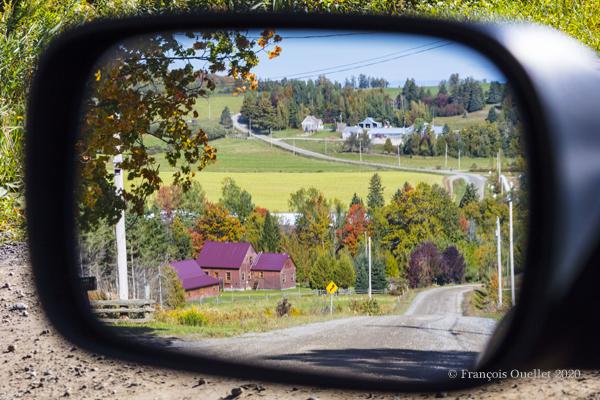 Paysage québécois en automne