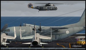 19444-Canadian-C130-and-Seaking-by-Enterprise-aircraft-carrier-FSX-web
