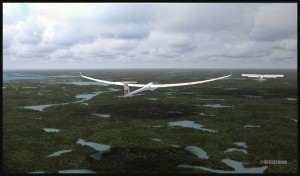 19522-Glider-gaining-altitude-over-Parry-Sound-fsx