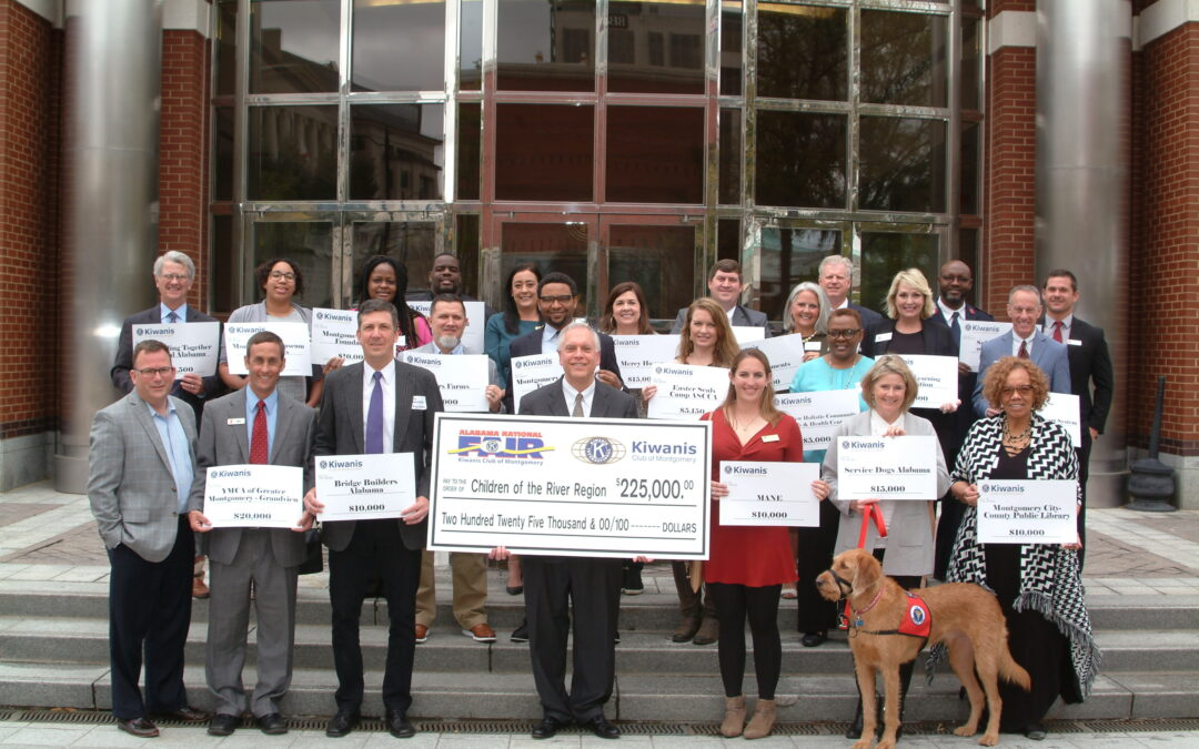 Kiwanis Club of Montgomery Provides More Than $225,000 in Grants