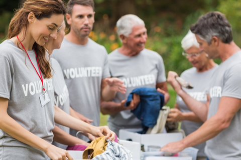 Volunteer with Humanity's Team
