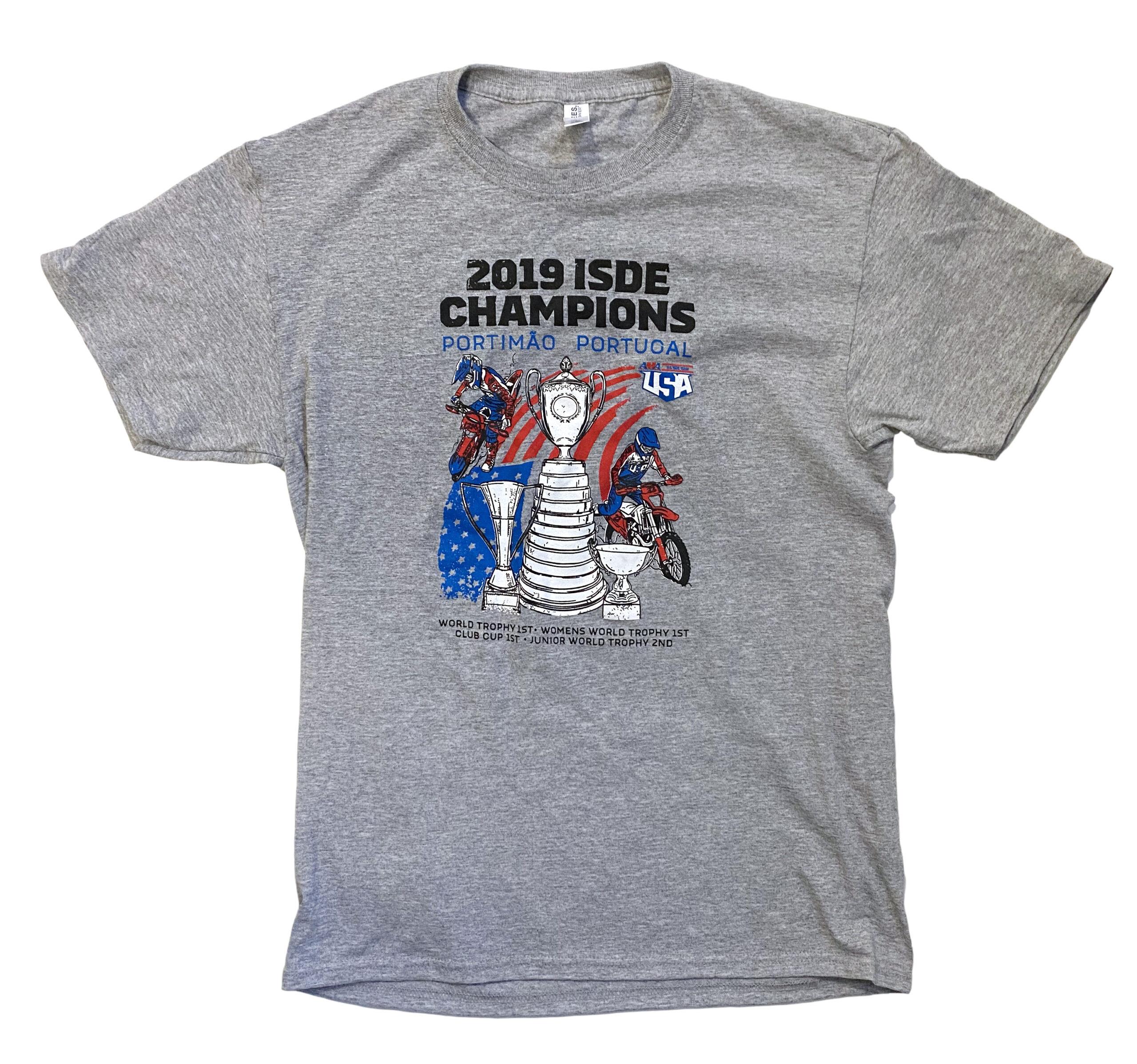 ISDE Champions T-shirt