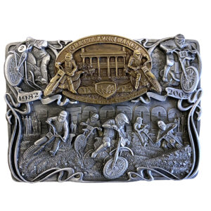 AMA Loretta Lynn Ranch Motocross Commemorative Belt Buckle