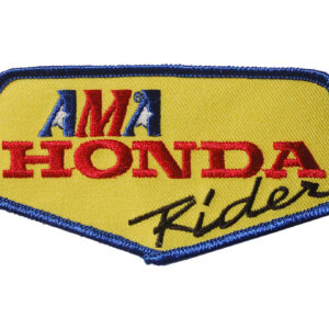 AMA Honda Rider Patch