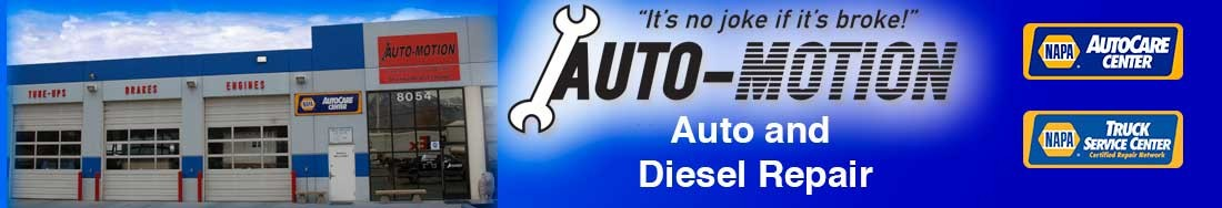 Auto Motion Utah-Auto and Truck Repair 8054 South State Street, Midvale Utah 84047 Call: 801-561-3601