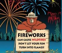 Celebrate the Fourth with light, but don't light a wildfire