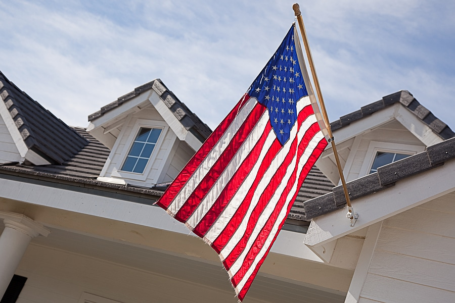 Freedom to Display the American Flag in Community Associations