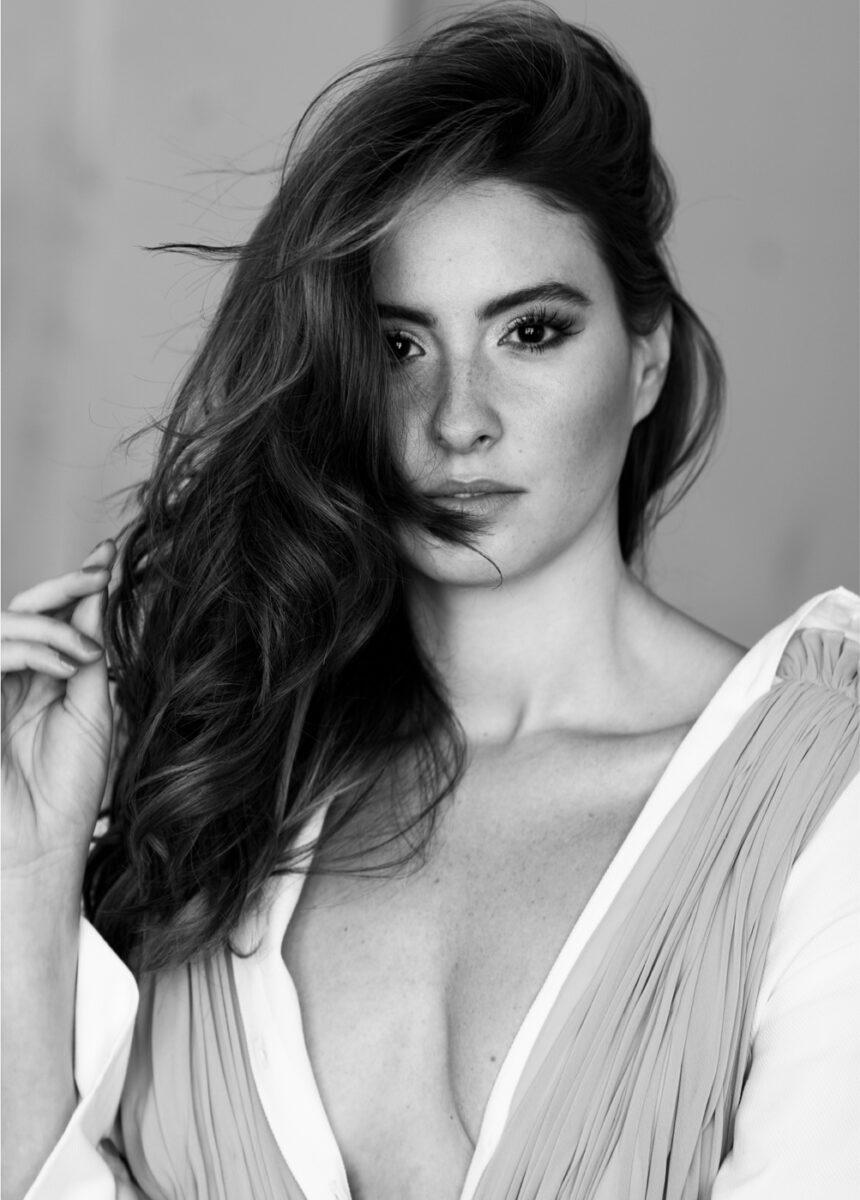 colombian actress portrait by ricardo pinzon