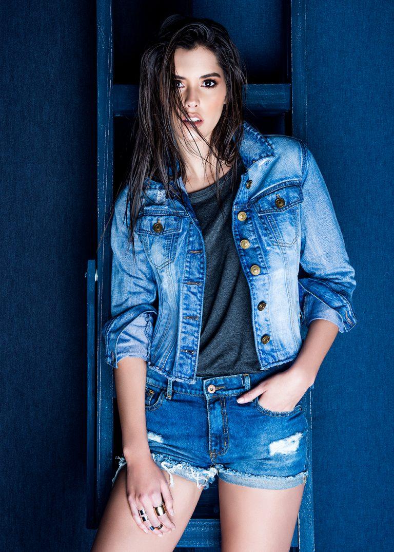 Paulina vega campaña jeans por ricardo pinzon